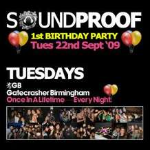 Soundproof-1st-birthday-party