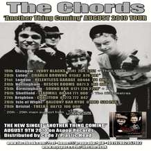 The-chords-autumn-tour-2010
